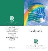 La distonia - Malattie Rare Lazio