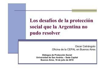 Los desafíos de la protección social que la Argentina no pudo resolver