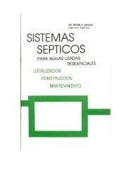 Construcción sistemas sépticos residenciales