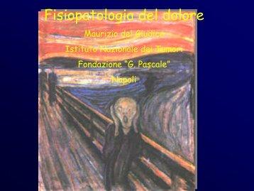 Fisiopatologia del dolore