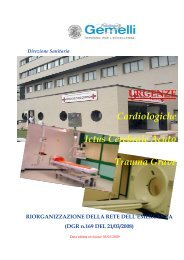 """Policlinico """"A. Gemelli"""" - Agenzia di Sanità Pubblica della Regione ..."""