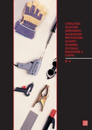 catalogo oliatori aerografi saldatura protezione - ORECA NEW Spa