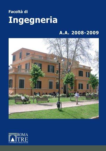 Ingegneria - Università degli Studi Roma Tre
