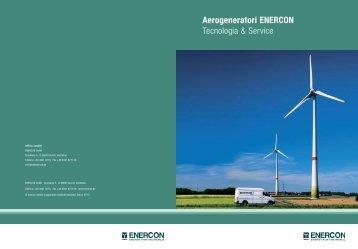Aerogeneratori ENERCON Tecnologia & Service