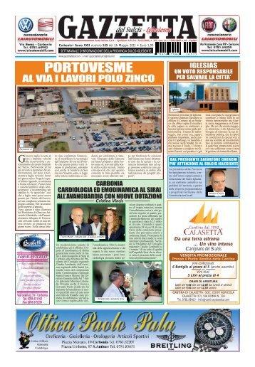 PORTOVESME - Gazzetta del Sulcis Iglesiente