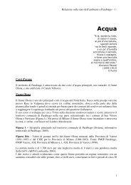Acqua - Ecomuseo e Agenda 21 Parabiago