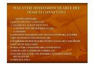 malattie osteoarticolari e dei tessuti connettivi - Fisiokinesiterapia.biz