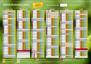 Abfuhrkalender 2010