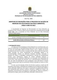 Doutorado - UFMT