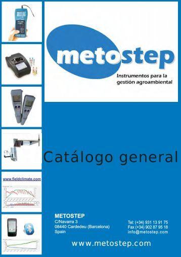 Catálogo iMetos - Metostep