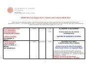 EVENTI dal 6 al 12 maggio 2013 e Evento visita ... - Chiesa di Milano