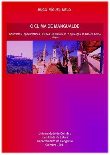 O CLIMA URBANO DE MANGUALDE - Estudo Geral - Universidade ...
