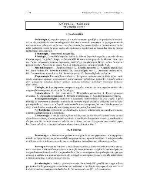 CONSCIENCIOLOGIA BAIXAR VERBETES