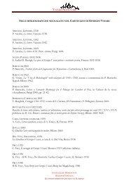 Bibliografia - Vasari Scrittore - Fondazione Memofonte