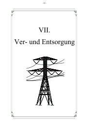 Ver- und Entsorgung VII. - Stadt Amberg