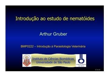 Introdução ao estudo de nematóides - USP