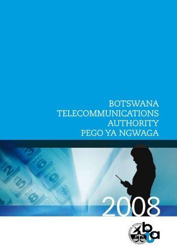 BOTSWANA TELECOMMUNICATIONS AUTHORITY PEGO YA ...