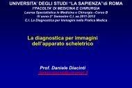 Rx Reumatol 2013 - Sapienza - Università di Roma