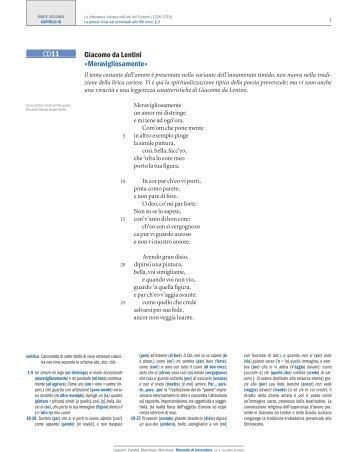 Giacomo da Lentini «Meravigliosamente» CD11 - DIGILA