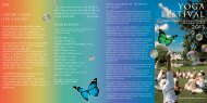 Download Yoga Festival Flyer 2013 - 3HO Europe