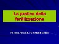 La pratica della fertilizzazione
