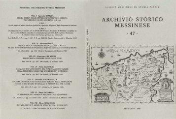 visualizza - Società Messinese di Storia Patria