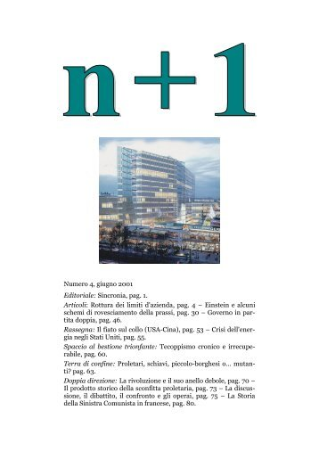Download della rivista completa in formato Pdf - n+1