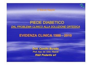 PIEDE DIABETICO - Riparazione Tessutale