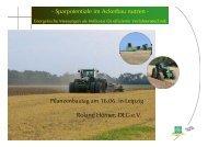 - Sparpotentiale im Ackerbau nutzen - Pflanzenbautag ... - Amazone