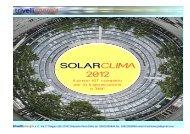 SOLARCLIMA 2012 - Trivelli energia srl
