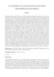 Marx e la crisi - Bellofiore - Università degli studi di Bergamo