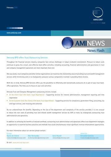 AMINEWS - Amicorp