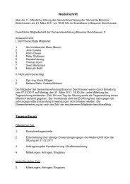 Sitzung vom 21.03.2011 - Amt Büsum