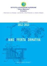 Piano dell' Offerta Formativa 2012-2013 - ITIS