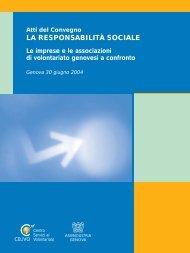 """atti del convegno """"la responsabilità sociale"""" - Celivo"""