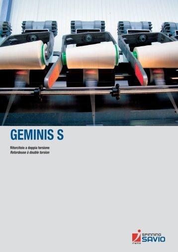 GEMINIS S it/fr.pdf - Savio