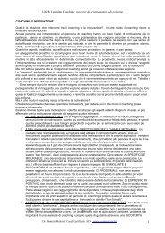 Coaching e motivazione - Mattoni, Daniele