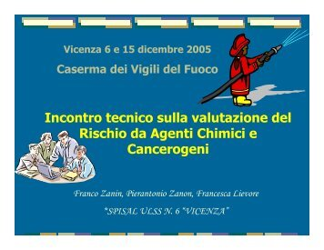 polveri di legno - ULSS 6 Vicenza