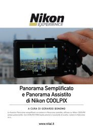 Panorama Semplificato e Panorama Assistito di Nikon ... - Nital.it