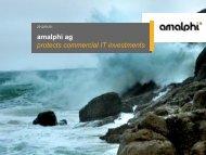 PDF File of Corporate Presentation - Amalphi