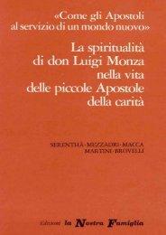 Come gli apostoli al servizio di un mondo nuovo - Beato Luigi Monza