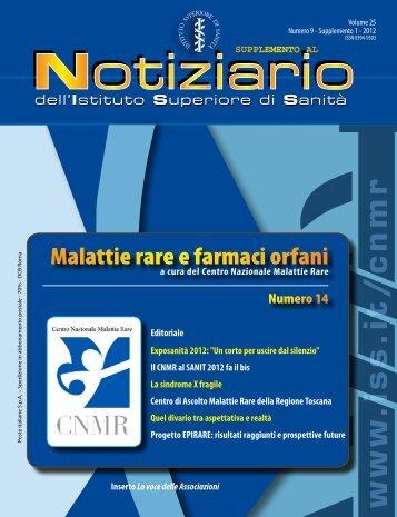 www .iss.it/cnmr - Istituto Superiore di Sanità