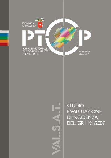 STUDIO E VALUTAZIONE DI INCIDENZA DEL. GR 1191 ... - STI SpA