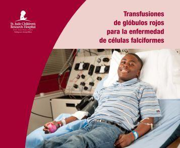 Transfusiones de glóbulos rojos para la enfermedad de células ...
