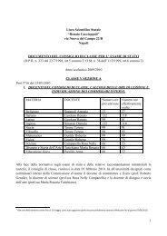 via Nuova del Campo 22/R Napoli ... - Liceo Caccioppoli