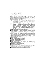 tutte le facolta - Servizio linguistico (SeLdA)