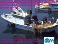 Produzione della pesca professionale e valutazione dell ...