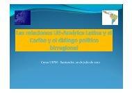 Las relaciones UE-América Latina y el Caribe y el diálogo político ...