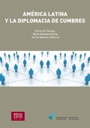 América Latina y la Diplomacia de Cumbres - Segib