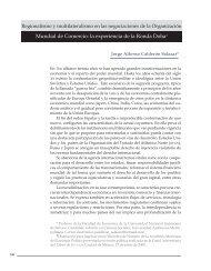 Regionalismo y multilateralismo en las negociaciones de la
